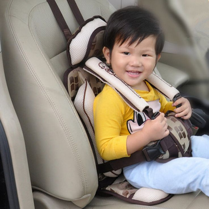 Portable Baby Safety Car Seats Kids Chairs in the Car Children Sitting in Booster Car alzador silla auto Baby Auto Seat Cushion
