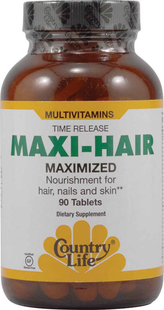 Country Life Maxi-Hair®....  I swear by these pills. These vitamins truly have been the trick to my hair growing super long.