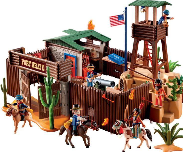 Compra el Fuerte del Oeste de Playmobil en oferta por sólo 68€ El precio más bajo del momento. Oferta de duración limitada por unos días. #chollos #chollopedia #rebajas #chollodeldia