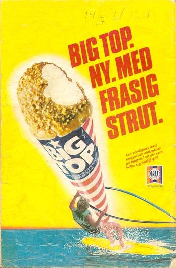 European ice cream ~ retro ~ Big Top!!