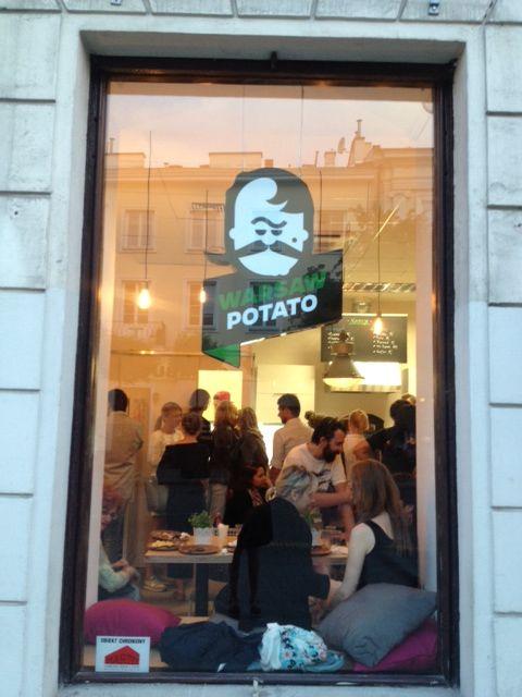 Warsaw Potatao czyli miejsce, w którym ziemniaka doświadczysz na milion sposobów :)