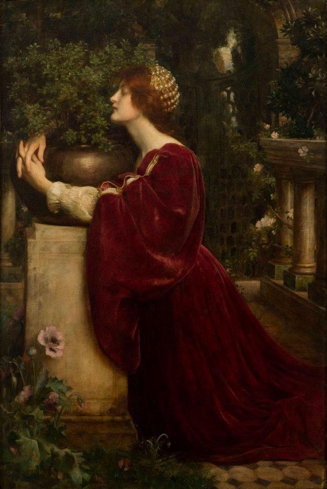 Arthur Nowell (Inglaterra / England , 1862-1924) Isabel y ...