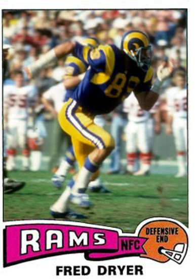 Fred Dryer Los Angeles Rams