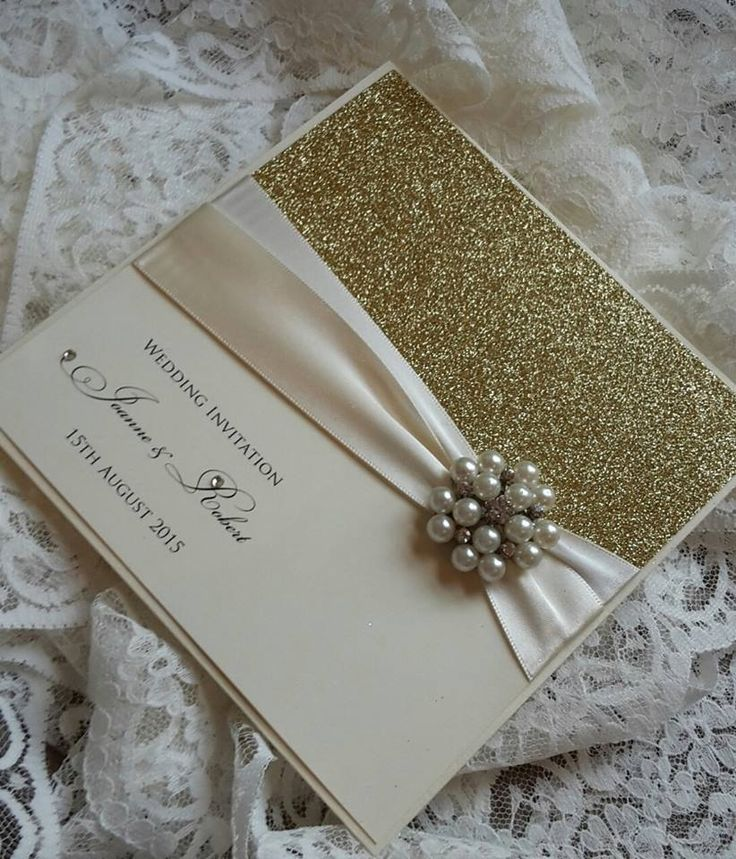 Pearl Cluster And Glitter