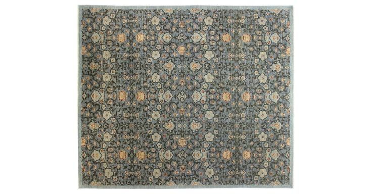 This fine traditional rug is made of soft wool, which is hand-knotted using centuries-old techniques. Because each is made by hand, no two are exactly alike. We recommend using a rug pad to extend...