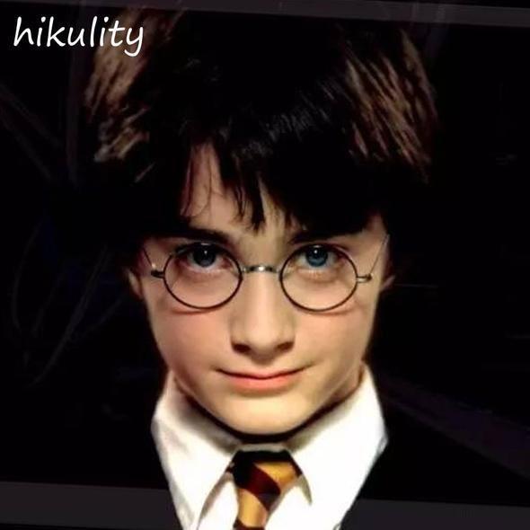 f4474ad18f Harry Potter Glasses Men Vintage Black Eyewear Frame 2018 Round Glasses  Clear Male Eyeglasses Women Frame Clear Glasses Female