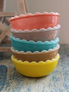 Scalloped Pyrex