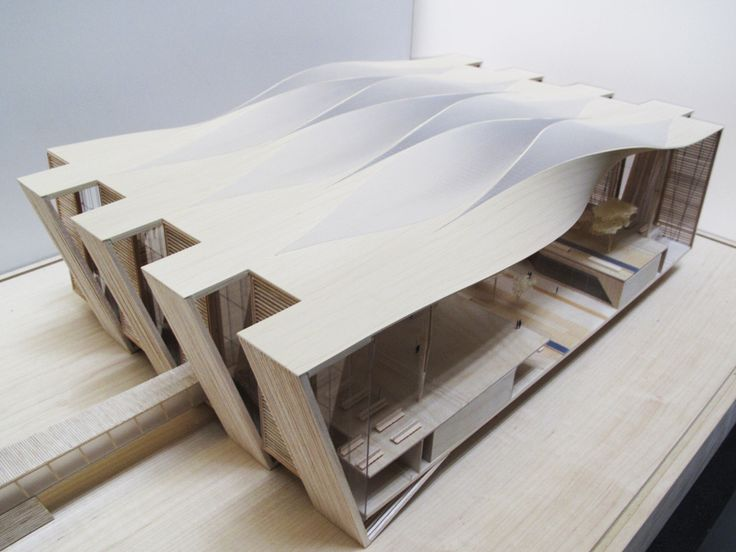 Sordo Madaleno Arquitectos & Pascall+Watson – Scale Model of Proposal for New Mexico City Airport, 2014