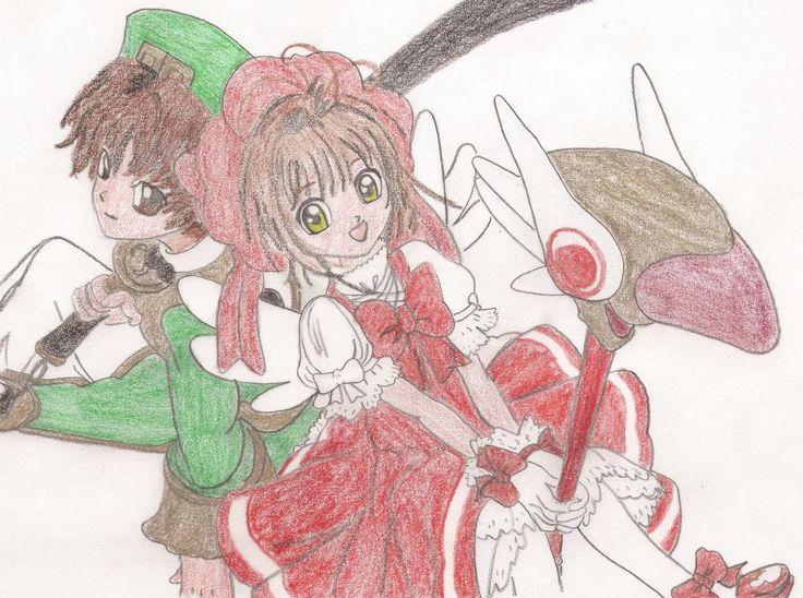 ~ Sakura Cardcaptor (カードキャプターさくら) ~  ¬ Li Shaoran (李 小狼) ¬ Kinomoto Sakura (木之本 さくら)