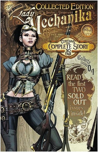 Lady Mechanika, complete No 9&1 collector's series.