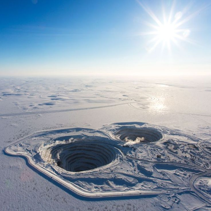 Diavik Diamond Mine in a remote location in Canada  is proving that diamond mining can be ethical