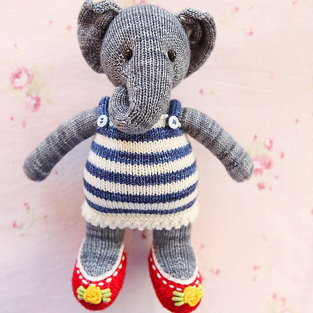 Ravelry: Olli Polli The Elephant pattern by Heidi Bears