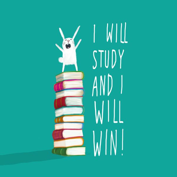 I Will Study and I Will Win! Framed Art Print by Dale Keys | Society6