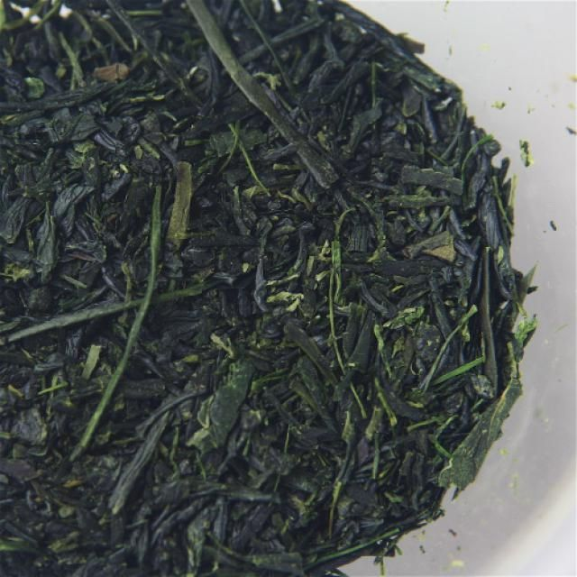 Green Tea: Gyokuro is a shade-grown Japanese green tea with a deep, blue-green color and a rich, savory flavor.