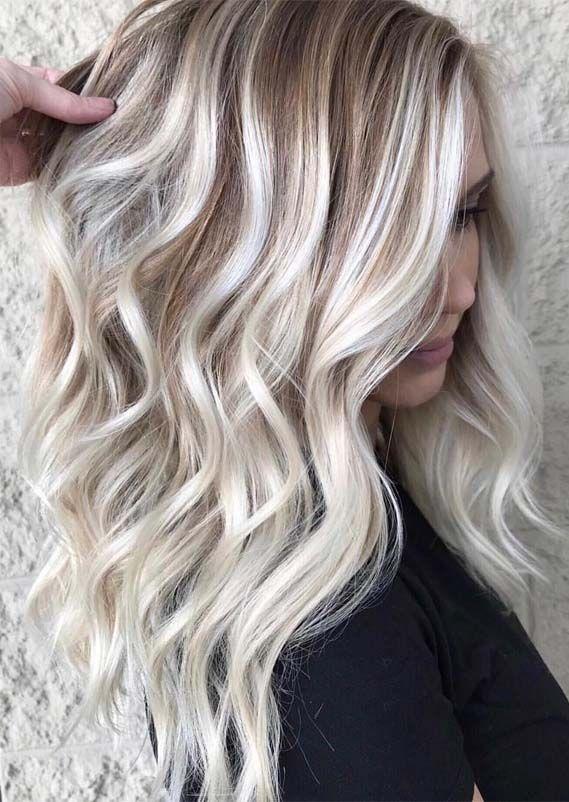 Rooty Blonde Blonde Balayage On Long Hair Balayage Long Hair Balayage Straight Hair Long Hair Styles