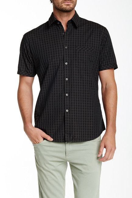 James Campbell Pauley Short Sleeve Regular Fit Shirt