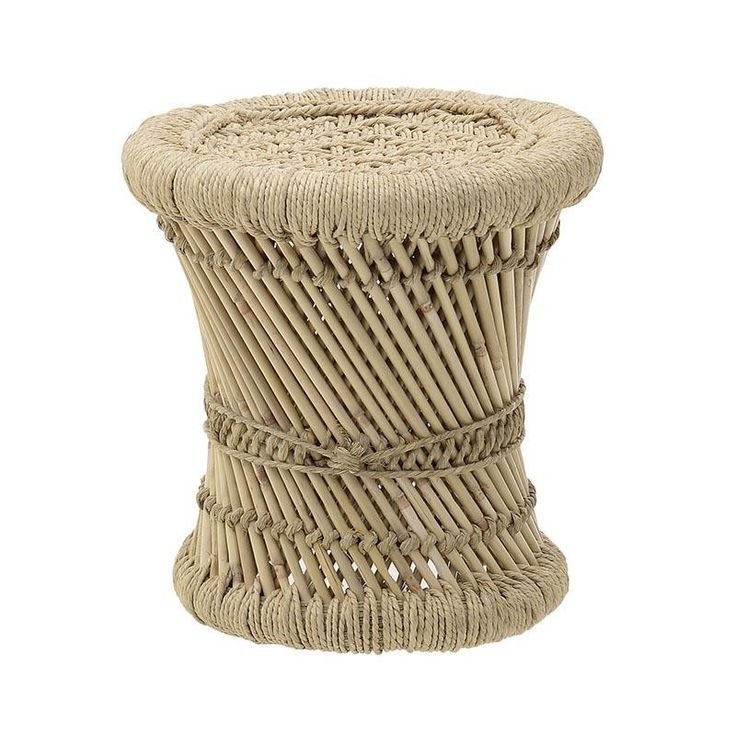 Seagrass Stool - inart