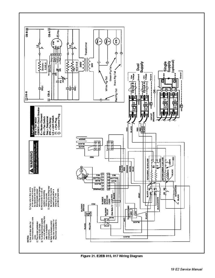 New Wiring Diagram for Intertherm Electric Furnace #