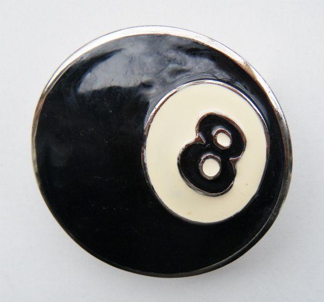 Metal Black Eight Ball Pool Billards Belt Buckle #8ball #eightball #poolball #poolblackball #pool #pooltable #POOLPLAYER #beltbuckle #buckles #ballbuckles #coolbuckles