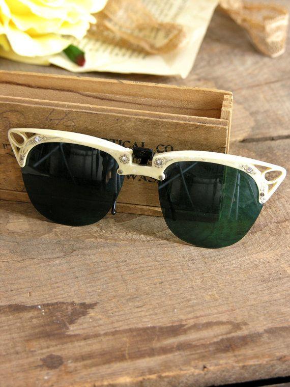 Vintage 1940s Shady Lady Sunglasses