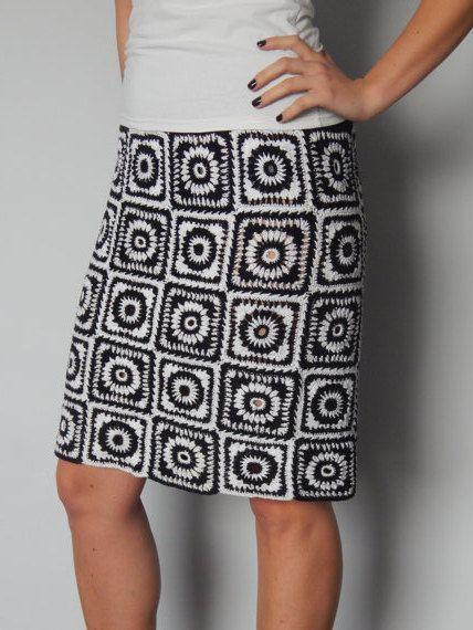 Black&White variation by JoannaFashion on Etsy, $142.40