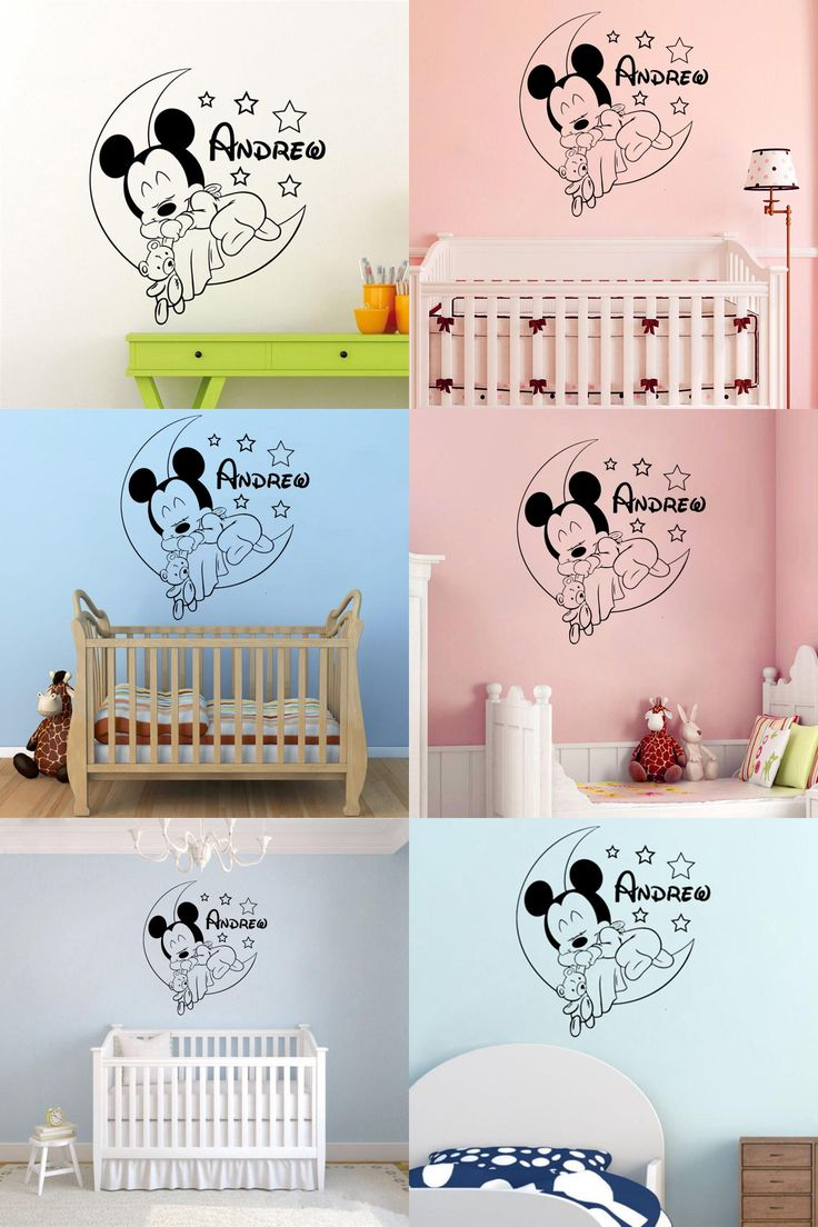 Best Mickey Mouse Wall Decals Ideas On Pinterest Minnie - Custom reusable vinyl wall decals   how to remove
