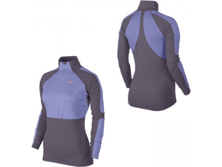 Nike Pro Hyperwarm Shield Half-Zip Running Top