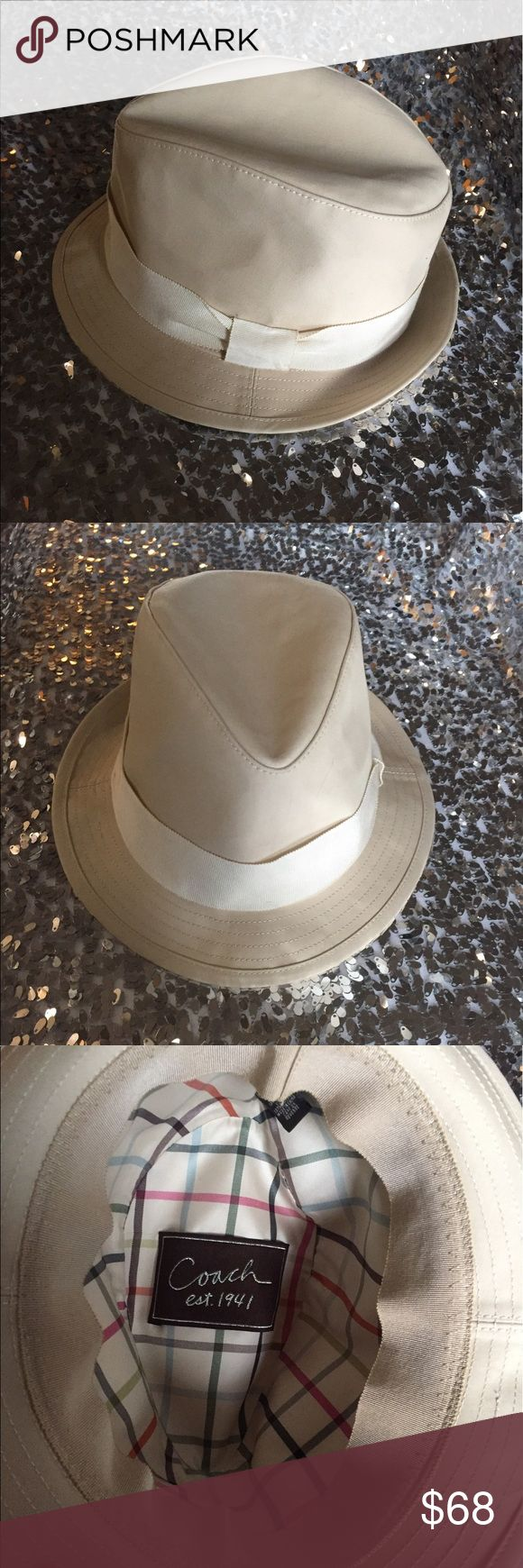 Coach hat 🎩 in great condition M/L size Beautiful Coach hat 🎩 in great condition M/L size Coach Accessories Hats