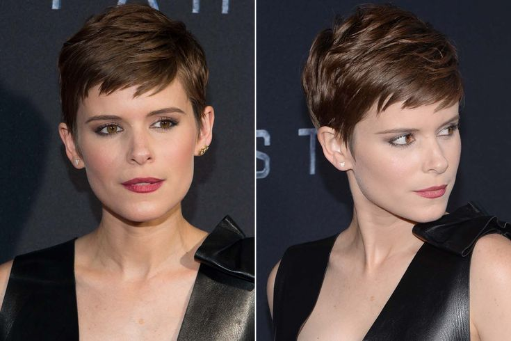 Kate Mara. Pixie Cut.