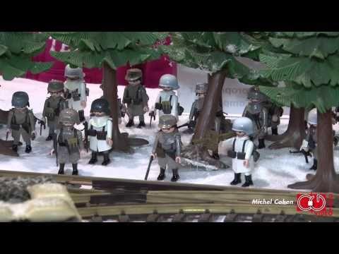 Playmobil - La bataille des Ardennes 1944-1945 - Bastogne (Part Two) - YouTube