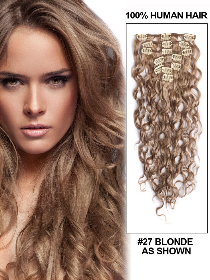 39 best diy hair extensions images on pinterest hair extensions 14 7 piece deep curl clip in human hair extension blonde deep curl clip buy hair extensionscolored pmusecretfo Choice Image