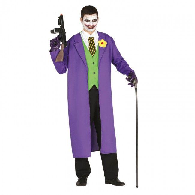 Disfraz de Joker Batman adulto #disfraces #carnaval #novedades2017