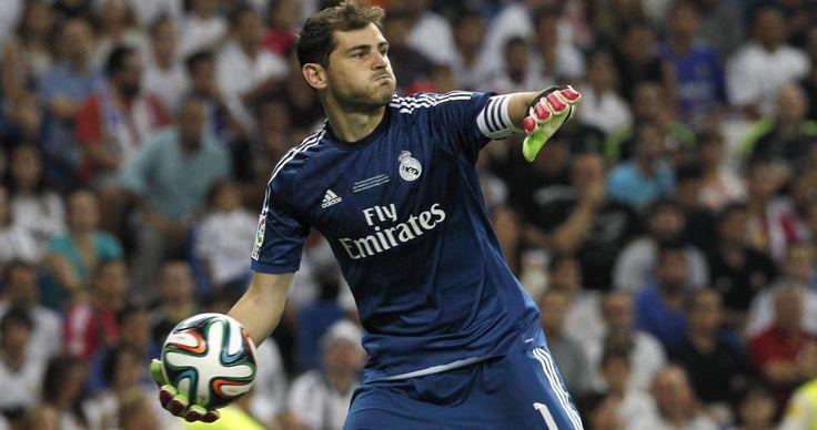 Iker Casillas - Real Madrid CF #RealMadrid #Spain #Captain #Football #Soccer #Sports #Legend #Goalkeeper #EuropeanFootball #Laliga