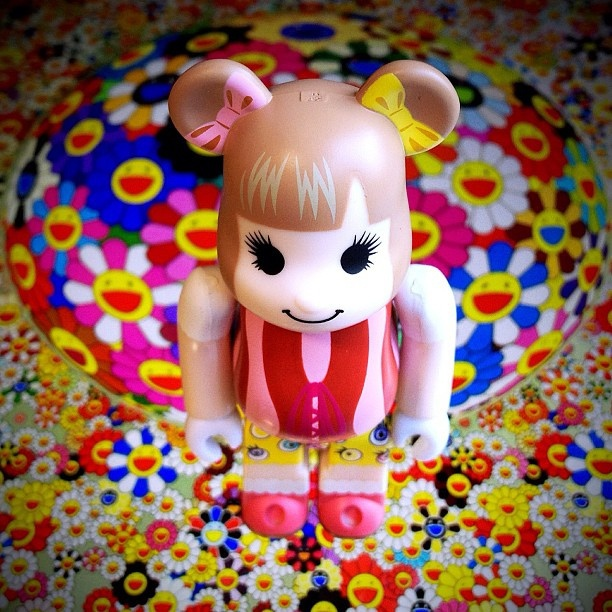 Kyary Pamyu Pamyu is Superflat Bearbrick!!! See you in another hour! by WindKoh, via Flickr