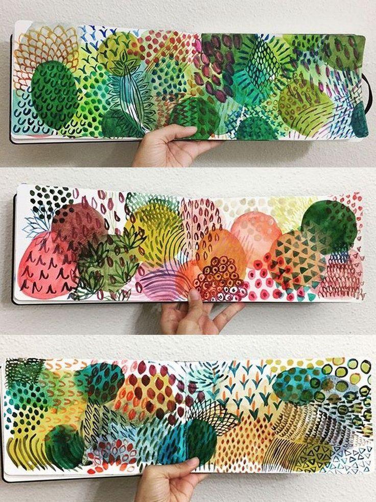 Art Journal Love with Fatima Bano — Kellee Wynne Studios