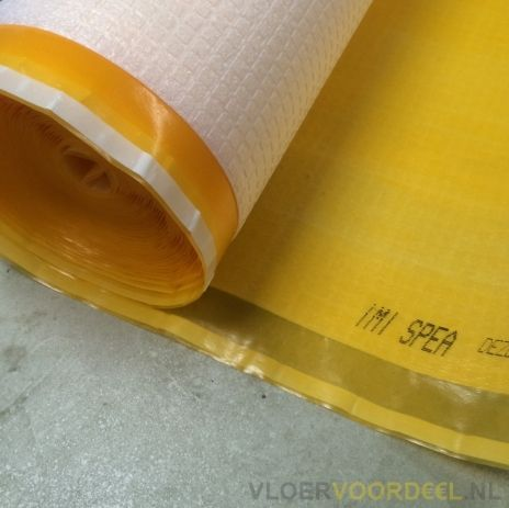 Ondervloer 10db TUV appartement Spemi Oranje HDR 15m² per rol