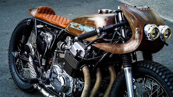 8negro: 1972 Honda CB750:: Thirteen and Company.