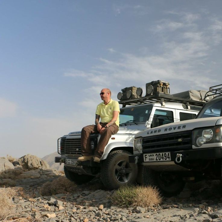 In Oman, after a great drive in great company