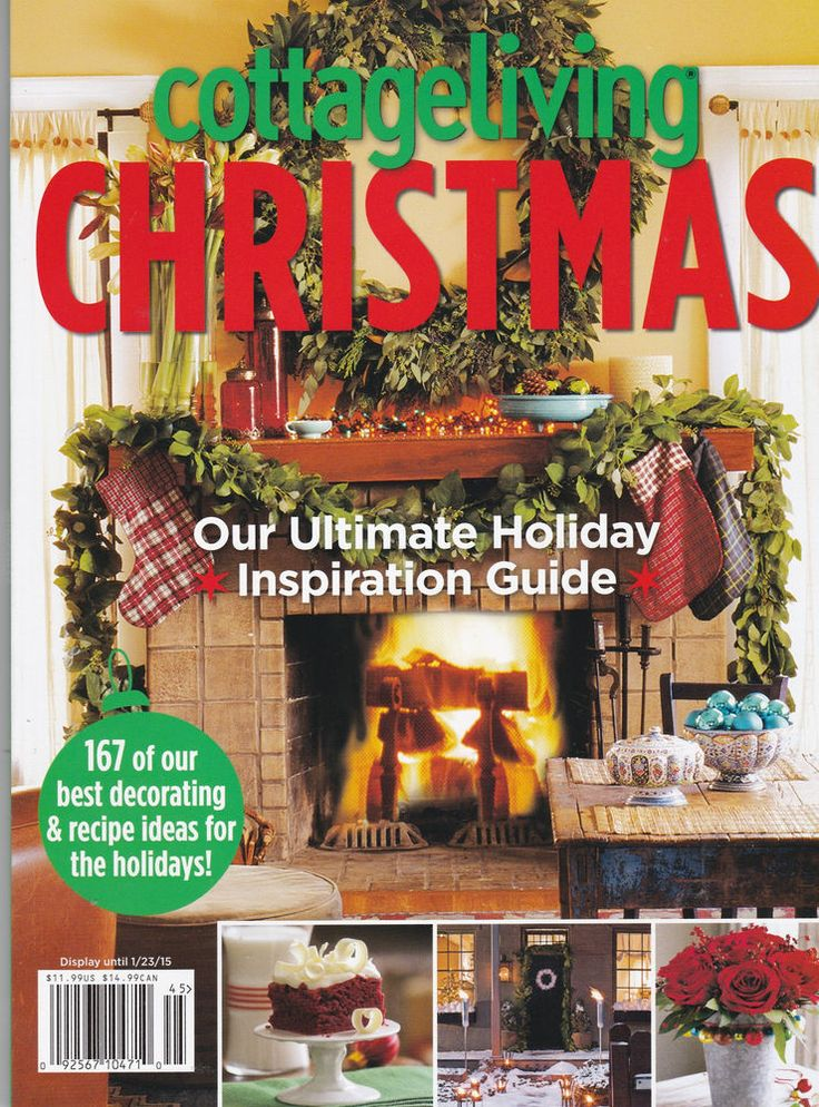 cottage living Magazine NEW Christmas Cottage living