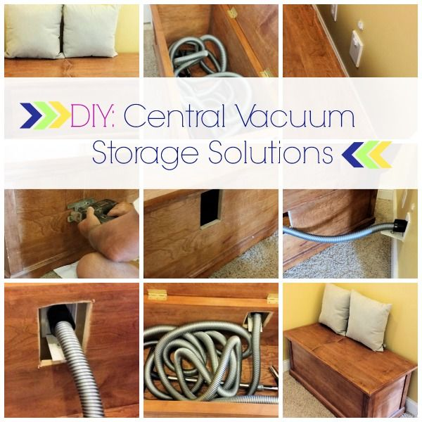Diy Simple Storage Solutions For Your Central Vacuum Central