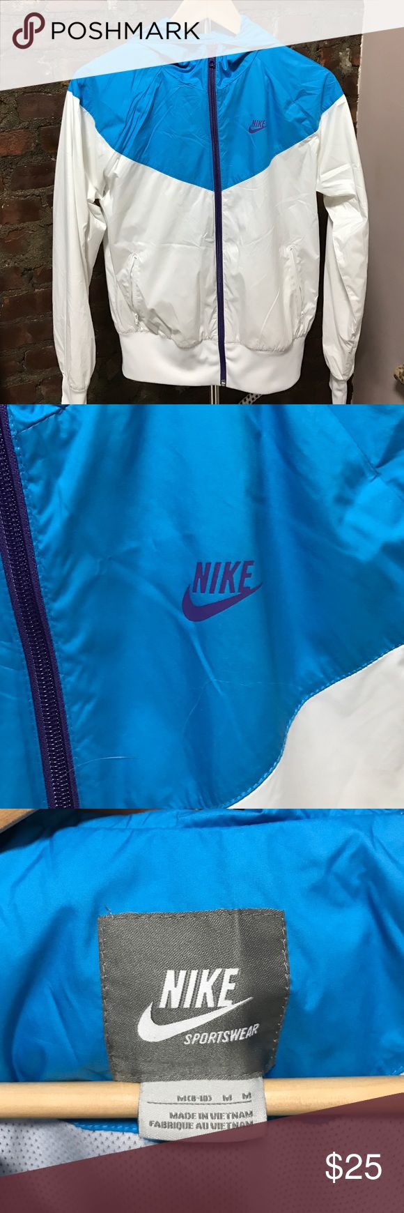 Nike Womens's Windbreaker Track Jacket Nike Women's size Medium Track Jacket/windbreaker. Great for working out! Nike Jackets & Coats