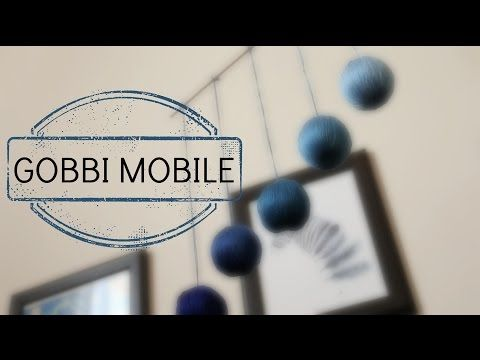 DIY: Montessori Gobbi Mobile - YouTube
