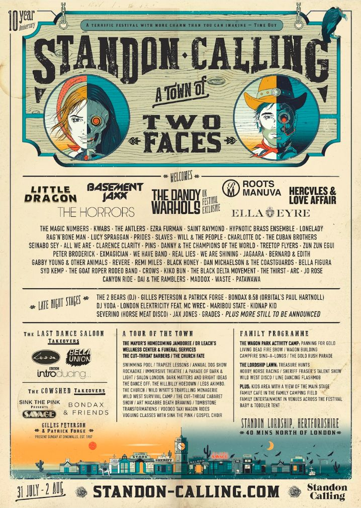 Line-Up | Standon Calling