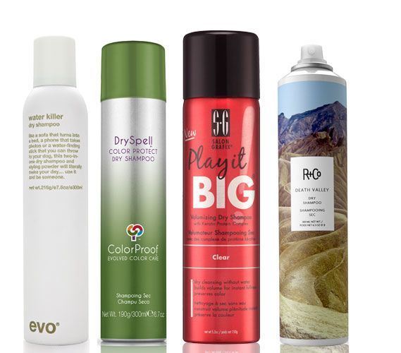 best dry shampoos - Meilleur Shampoing Cheveux Colors