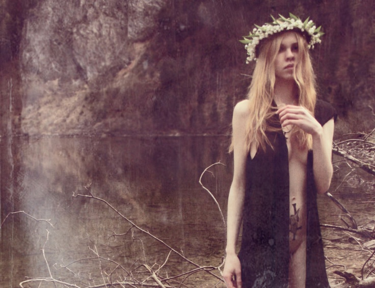 from ovate: Krist Mort, Interview, Inspiration Photography, Crown Pagan, Ethereal Visions, Fashion Photography, Lake Ritual