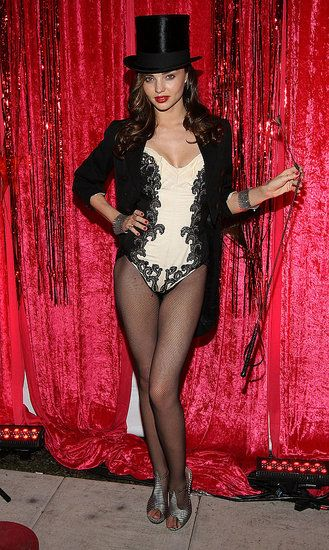 Miranda Kerr Ringmaster - a classy take on it, but my version would require some shorts.