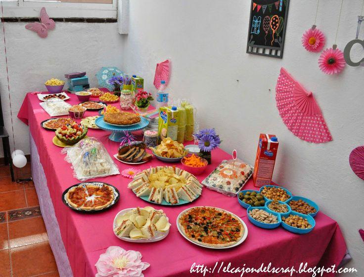 Ideas para cumplea os infantiles birthday food ideas aperitivos y canap s pinterest food - Comidas para cumpleanos en casa ...
