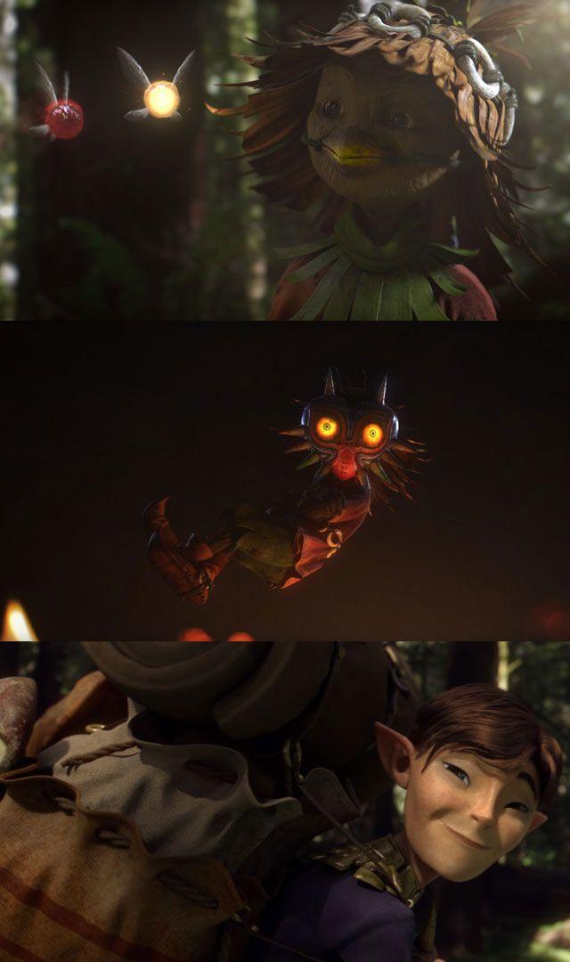 Majora's Mask Terrible Fate : Un énorme court métrage sur les origines de Skull Kid (The Legend of Zelda)