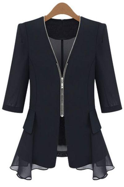 Essential Slim Flit Jacket