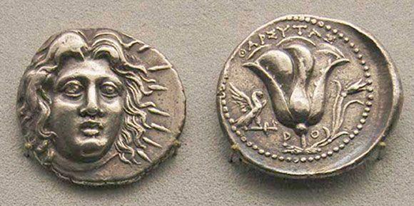 Старинные монеты Родоса